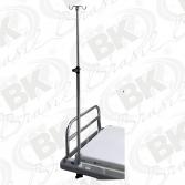 OPCIONAL - BKAO SS-004 - SUPORTE DE SORO ALTURA REGULÁVEL COM HASTE PARA BOMBAS DE INFUSÃO