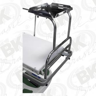 OPCIONAL - BKAO MR-013 - PRATELEIRA PARA MONITOR EM AÇO INOXIDÁVEL